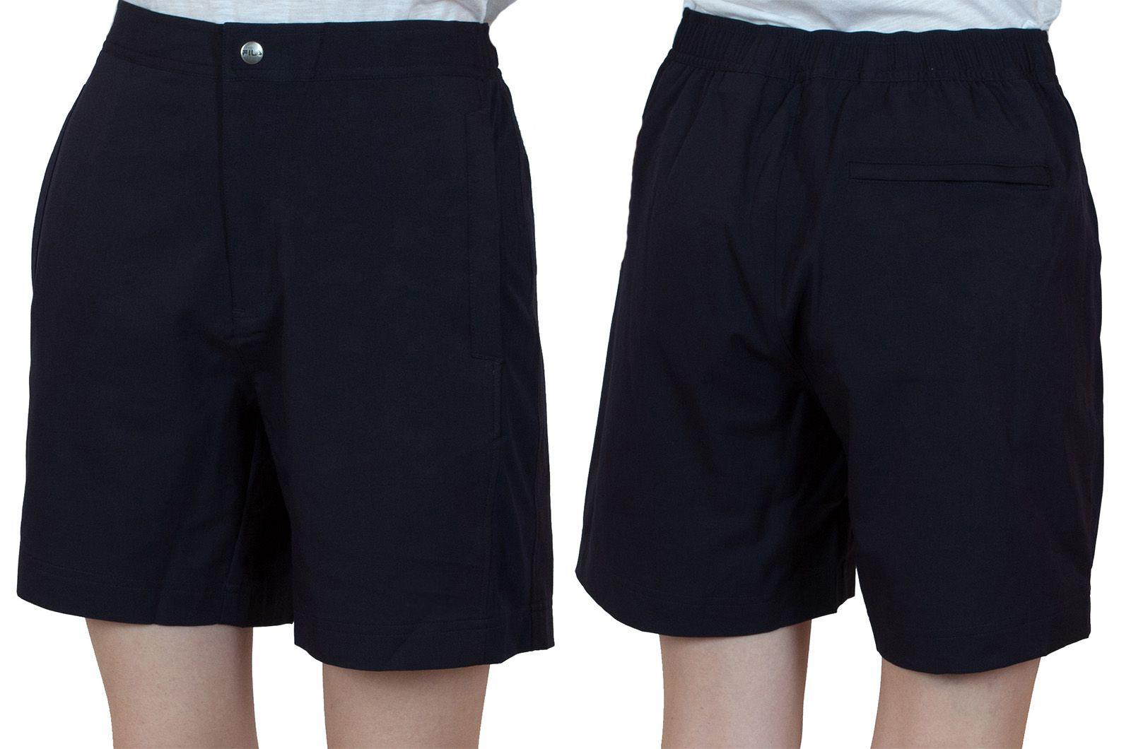 Заказать спортивные черные шорты для женщин