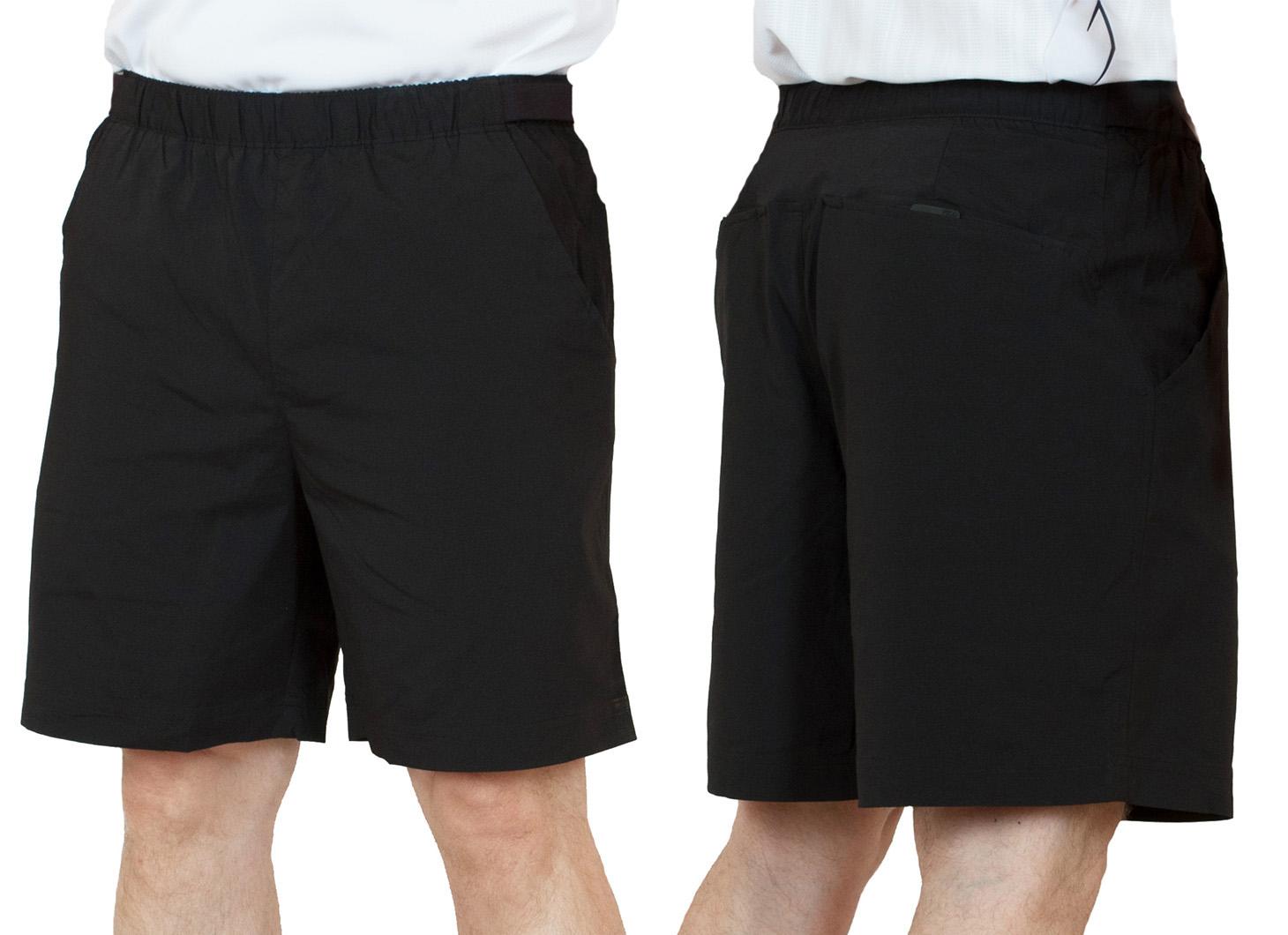 Заказать черные спортивные шорты для мужчин