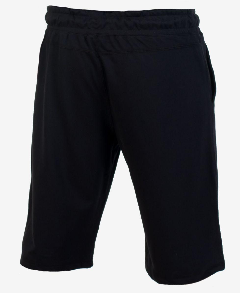 Заказать чёрные трикотажные шорты