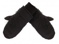 Черные варежки Thinsulate для мальчиков