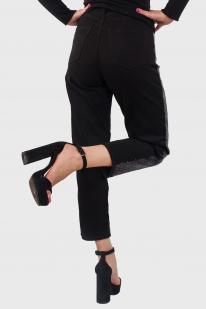 Черные женские брюки-джинсы от Monki (Швеция) по доступной цене