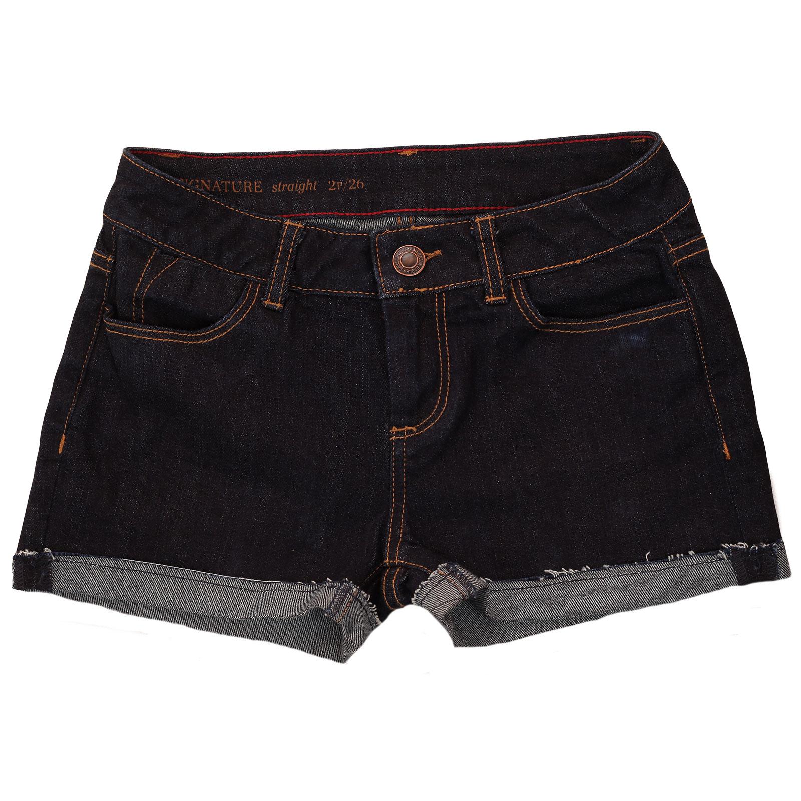 Чёрные женские джинсовые шорты American Eagle. С кедами – хулиганка, на каблучках – секси куртизанка. Размеры до XXL