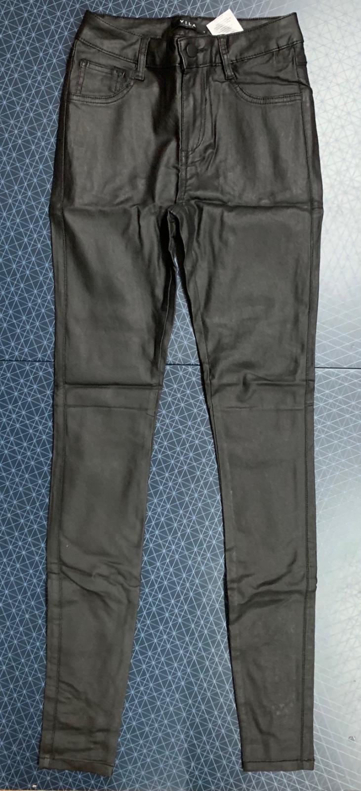 Черные женские джинсы от бренда VILA