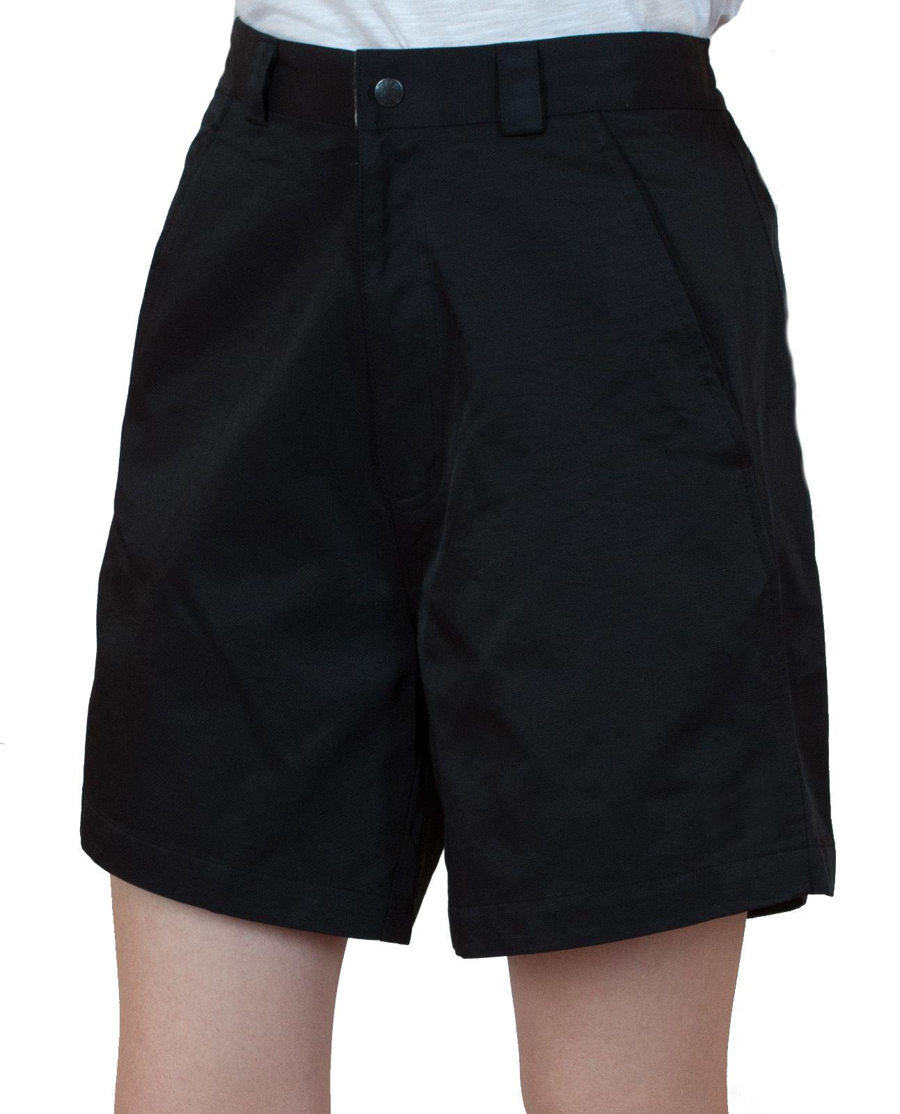 Черные женские шорты для спорта