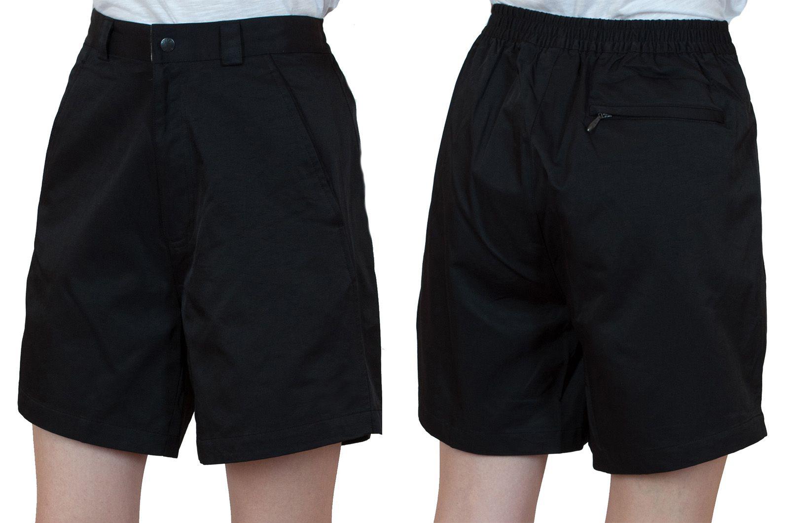 Заказать черные женские шорты для спорта