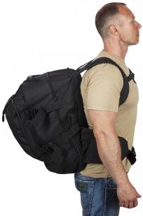Черный армейский рюкзак 3-Day Expandable Backpack 08002A Black высокого качества