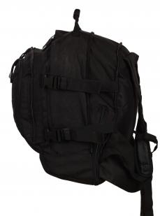 Черный армейский рюкзак 3-Day Expandable Backpack 08002A Black с эмблемой МВД заказать в Военпро