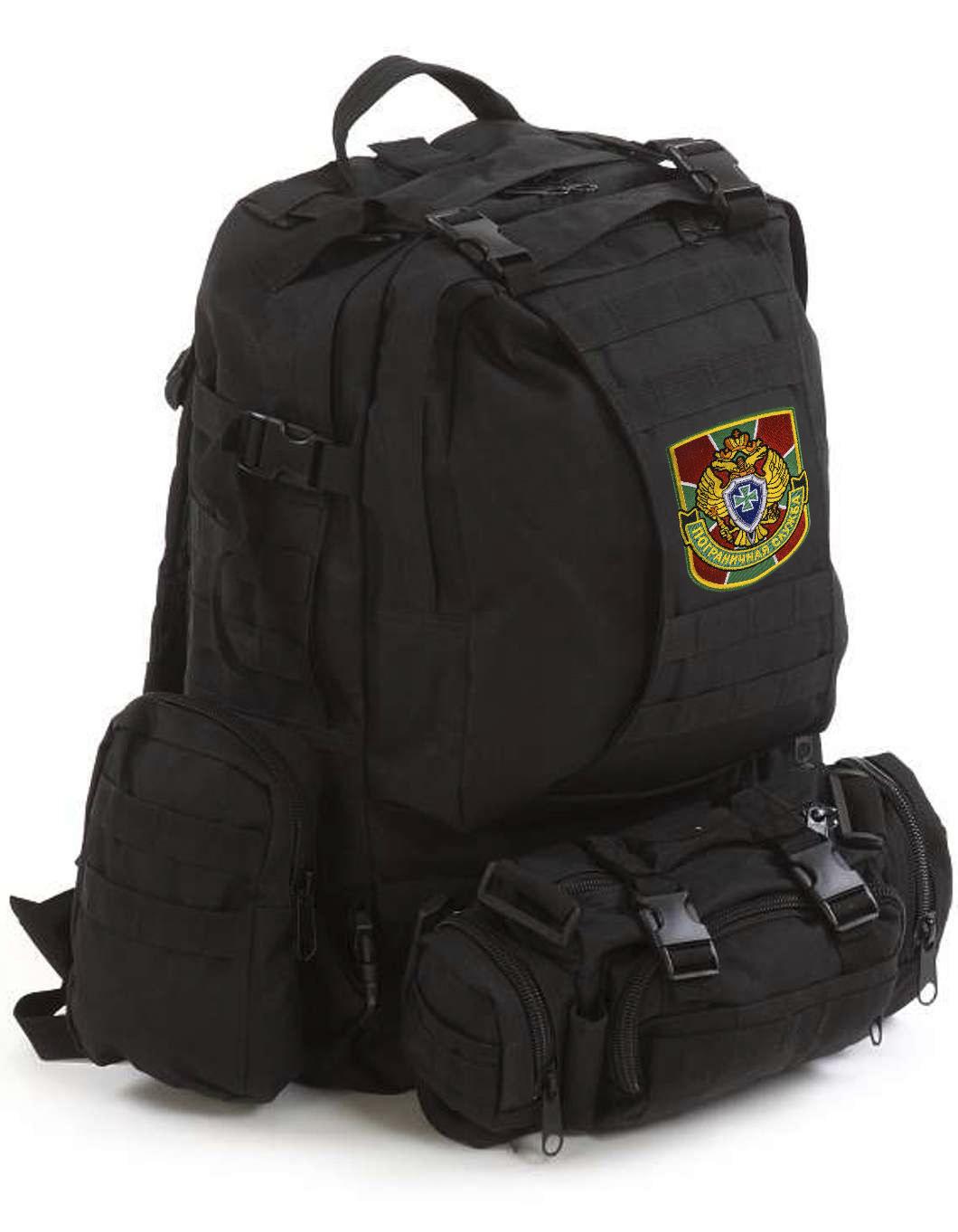 Черный армейский рюкзак Assault Пограничная Служба - купить в подарок