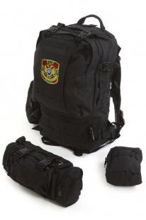 Черный армейский рюкзак Assault Пограничная Служба - купить с доставкой