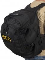 Черный армейский рюкзак с нашивкой ФСО - купить с доставкой