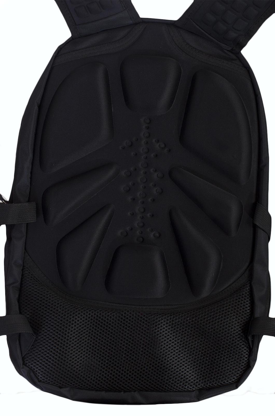 Черный эргономичный рюкзак с эмблемой Охотничий Спецназ - заказать выгодно
