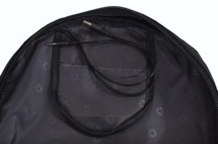 Черный эргономичный рюкзак с эмблемой Охотничий Спецназ - заказать с доставкой