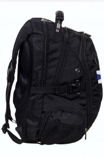 Заказать черный городской рюкзак с эмблемой ФСО