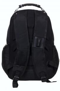 Черный городской рюкзак с эмблемой Погранвойск купить онлайн