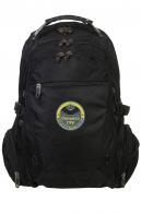 Черный городской рюкзак с эмблемой Спецназ ГРУ