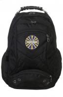 Черный городской рюкзак с эмблемой ВВС