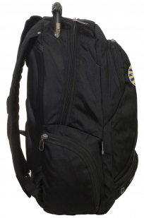 Черный городской рюкзак с эмблемой ВВС купить оптом