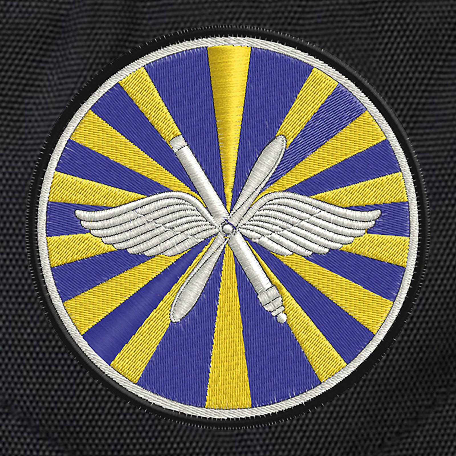 Черный городской рюкзак с эмблемой ВВС купить выгодно