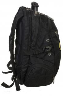 Заказать черный городской рюкзак с нашивкой Грибных войск