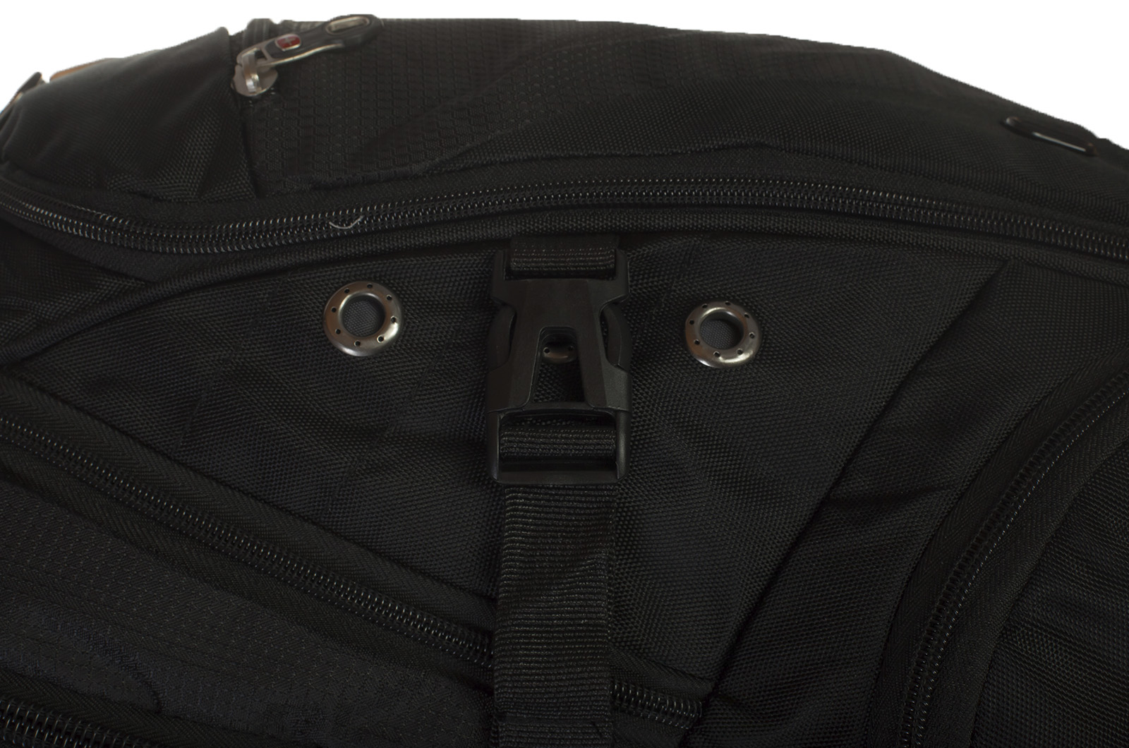 Черный городской рюкзак с нашивкой Грибных войск купить оптом