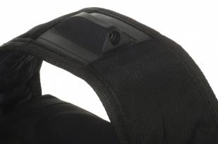 Черный городской рюкзак с нашивкой ВВС купить в подарок