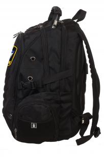 Черный городской рюкзак с шевроном Флот России купить онлайн