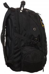 Черный городской рюкзак с шевроном Флот России купить в подарок