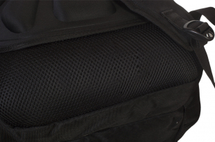 Черный городской рюкзак с шевроном Флот России купить выгодно