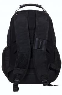 Черный городской рюкзак с шевроном Спецназ купить онлайн