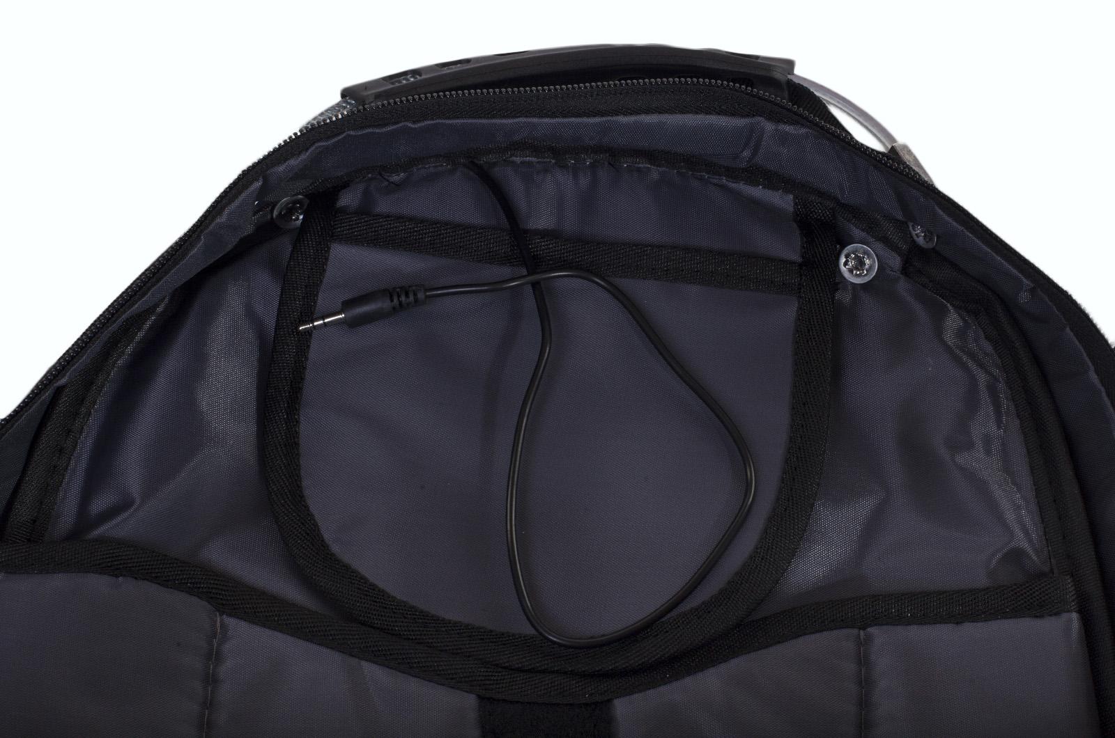 Черный городской рюкзак с шевроном Спецназ купить с доставкой