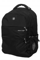 Чёрный городской рюкзак