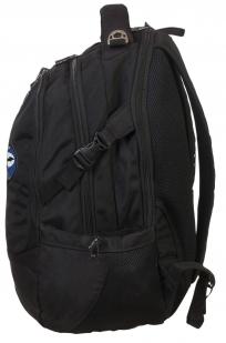 Черный крутой рюкзак с нашивкой Войсковая Разведка - заказать с доставкой