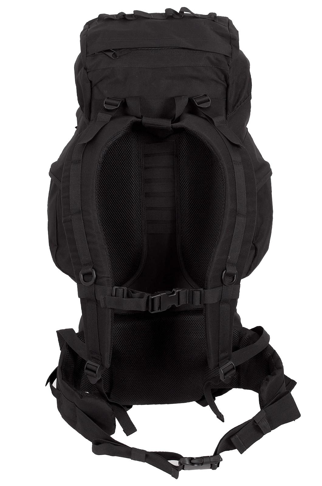 Черный многодневный рюкзак с нашивкой Потомственный Казак - купить в Военпро