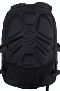 Черный молодежный рюкзак с нашивкой Таможня купить в подарок