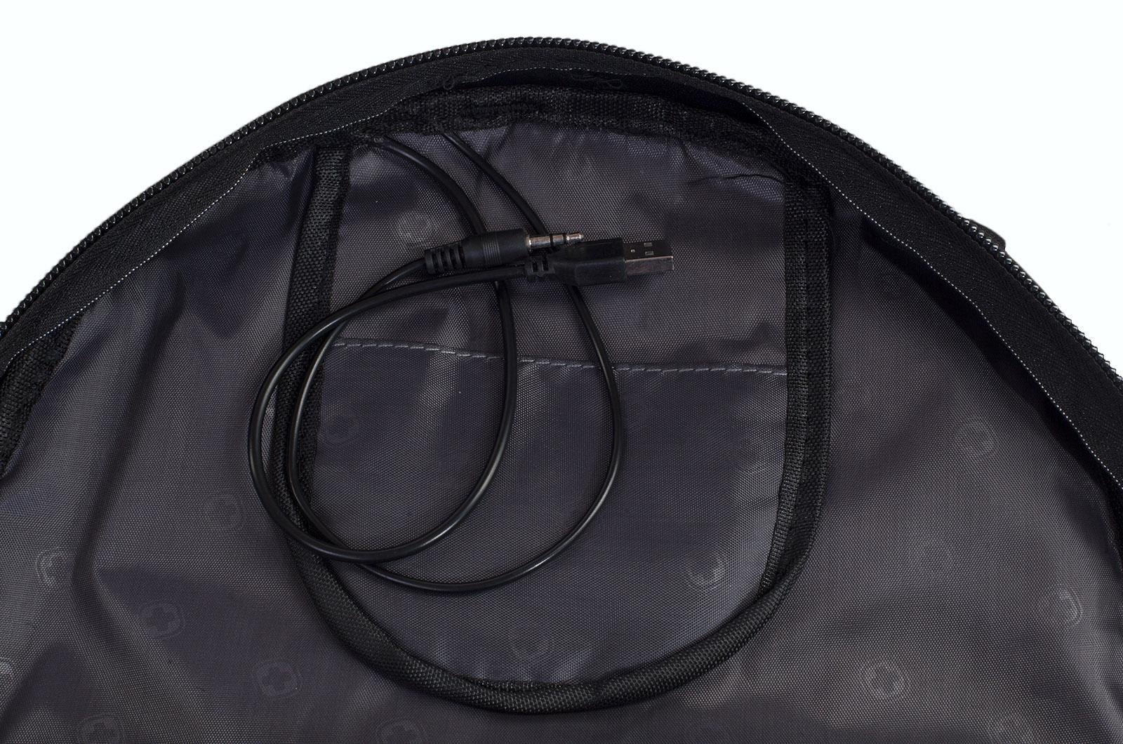 Черный молодежный рюкзак с нашивкой Таможня купить оптом