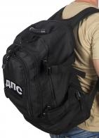 Черный мужской рюкзак с нашивкой ДПС - купить выгодно