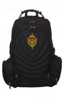 Черный мужской рюкзак с нашивкой ФСБ