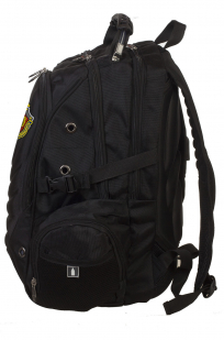 Черный мужской рюкзак с нашивкой ФСБ купить онлайн