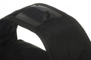 Черный мужской рюкзак с нашивкой Генерала Бакланова купить выгодно