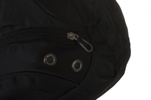 Черный мужской рюкзак с нашивкой МОРПЕХ купить по лучшей цене