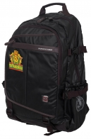 Черный мужской рюкзак с нашивкой Погранвойска - купить выгодно