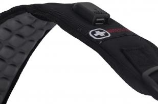 Черный мужской рюкзак с нашивкой РВСН - заказать с доставкой