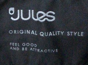 Черный мужской жилет от Jules.