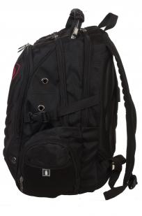Черный оригинальный рюкзак с нашивкой Велес - купить в розницу