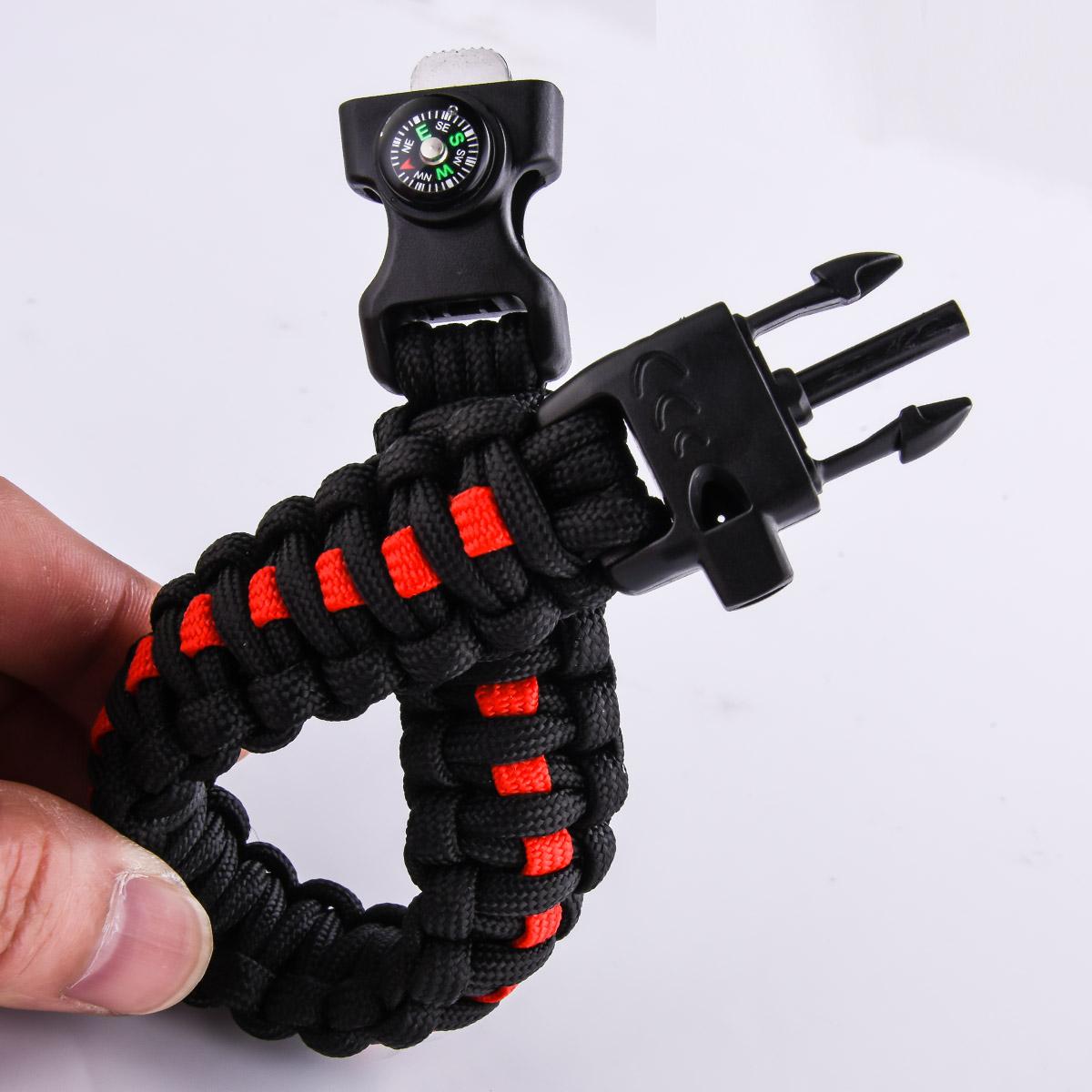 Чёрный плетёный браслет высокого качества