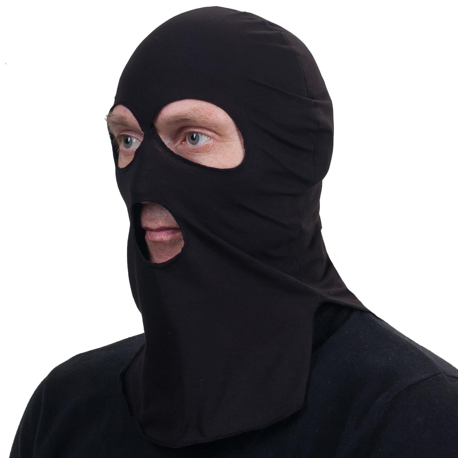 Чёрный подшлемник
