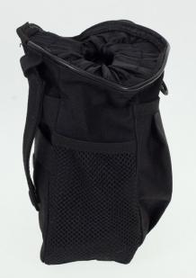 Черный подсумок под флягу с эмблемой СССР - универсальное крепление на поясе и рюкзаке оптом в Военпро