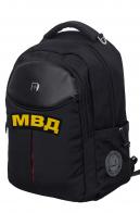 Черный повседневный рюкзак МВД