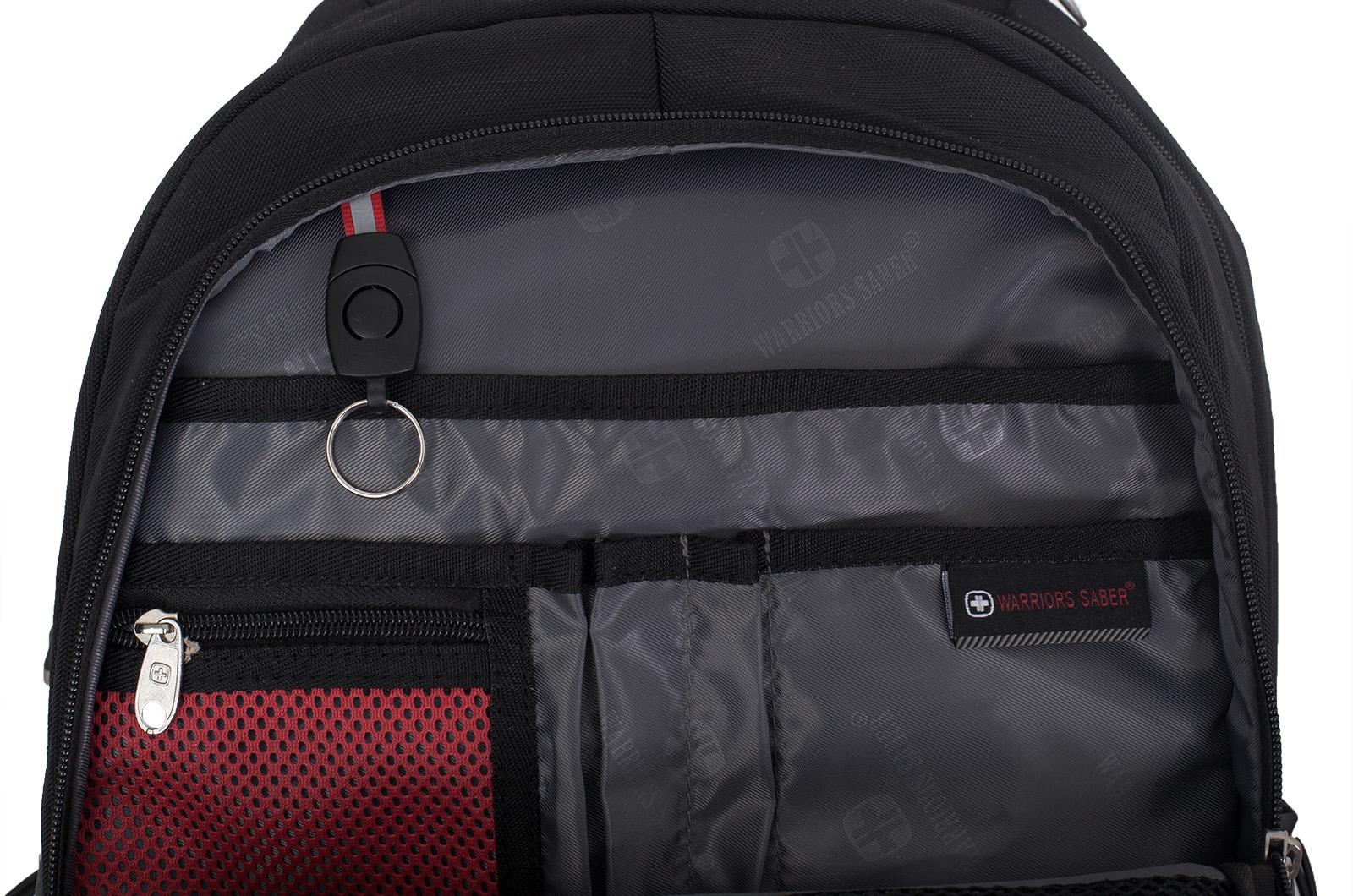 Черный повседневный рюкзак МВД - заказать в подарок