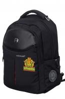 Черный повседневный рюкзак Погранвойска